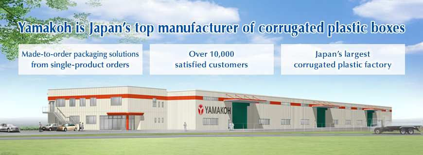 Yamakoh is Japan's top manufacturer of corrugated plastic